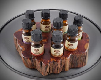 Essential Oil Holder Display Stand (9 Bottles) FREE SHIPPING