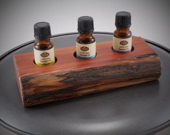 Essential Oil Holder Display Stand (3 Bottles) FREE SHIPPING