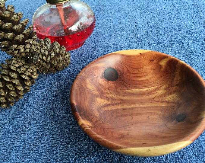 Featured listing image: Hand Turned Cedar Bowl FREE SHIPPING