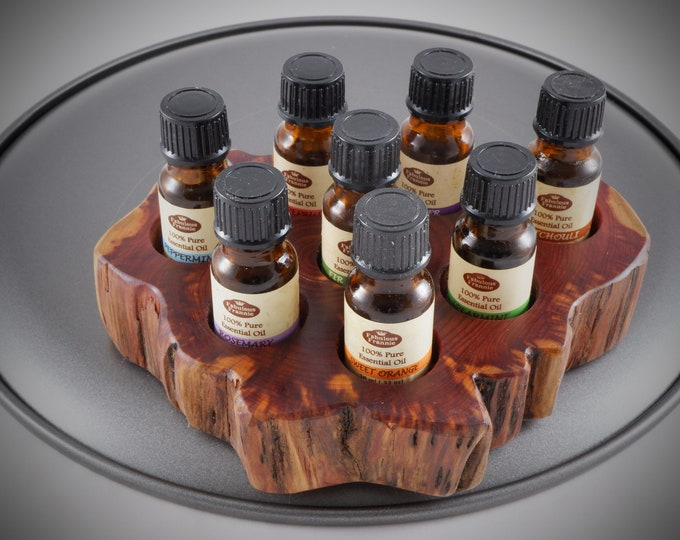 Featured listing image: Essential Oil Holder Display Stand (8 Bottles) FREE SHIPPING