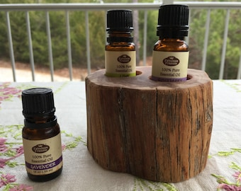 Essential Oil Holder Display Stand (2 Bottles) Free Shipping
