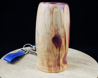 Hand Turned Aromatic Cedar Vase FREE SHIPPING
