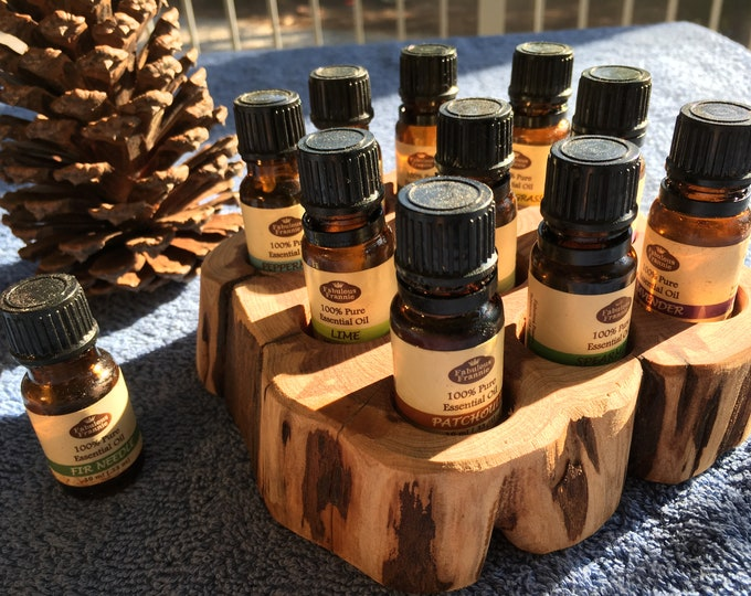 Featured listing image: Essential Oil Holder Display Stand (10 Bottles)