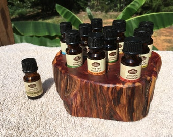 Essential Oil Holder Display Stand (10 Bottles) FREE SHIPPING