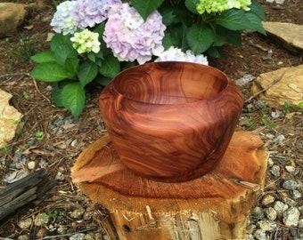 Hand Turned Cedar Bowl