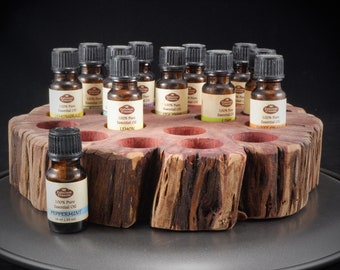 Essential Oil Holder Display Stand (17 Bottles) FREE SHIPPING