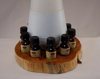 Essential Oil Holder Display Stand (10 Bottles) With Space for Your Diffuser FREE SHIPPING