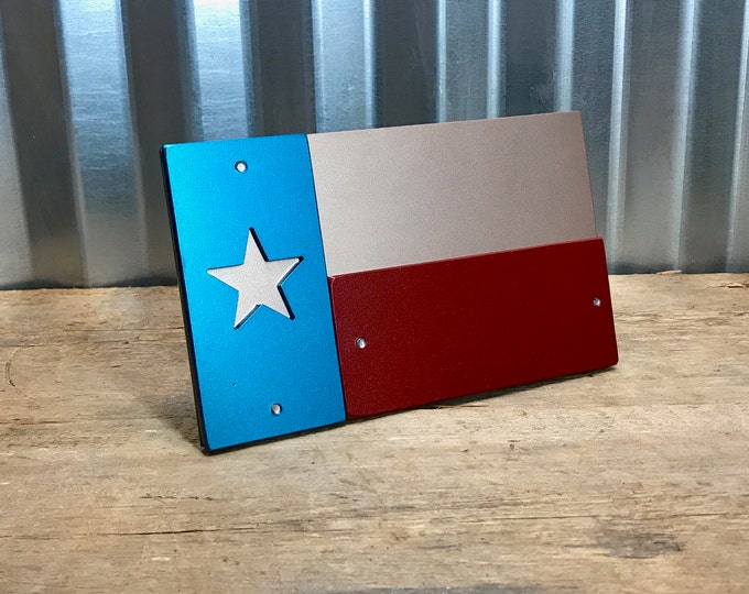 Texas Border Flag Hitch Cover