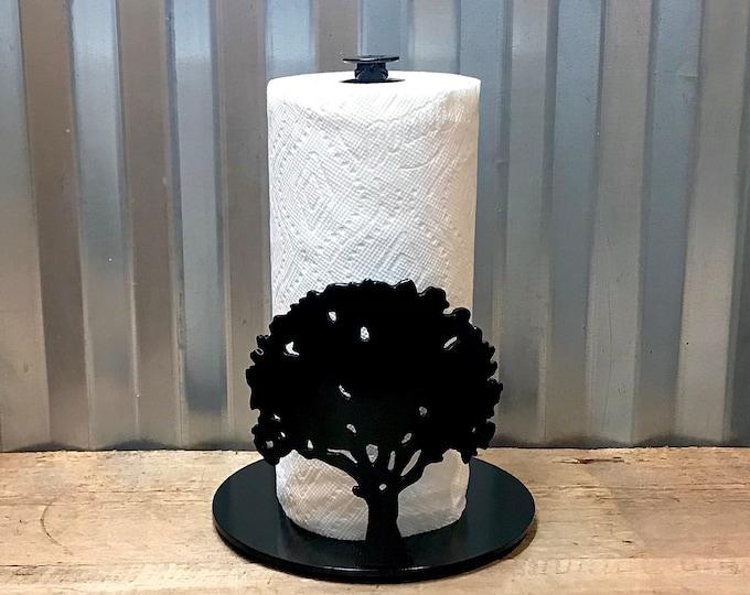 Oak Tree Paper Towel Holder