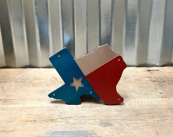 Texas Flag Texas State Hitch Cover