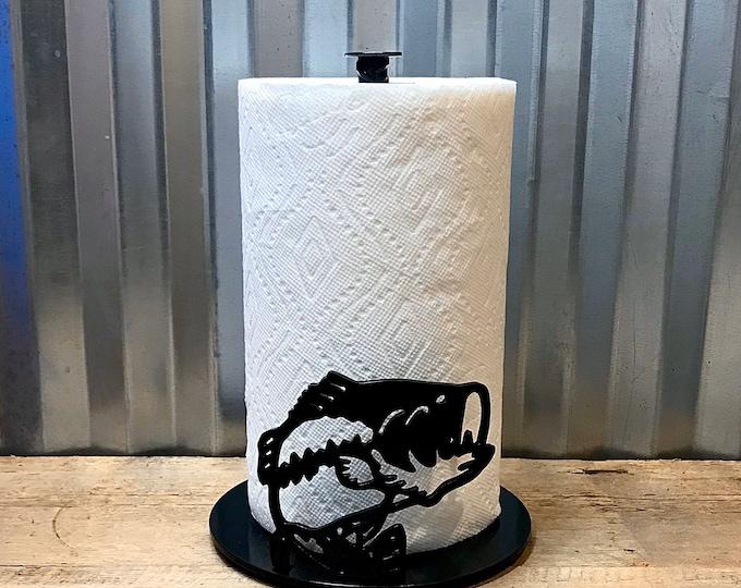 Bass Paper Towel Holder