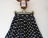 Manchester Bee Skirt 50% of sale profit to We Love Mcr Emergency Fund quirky fifties vintage style handmade