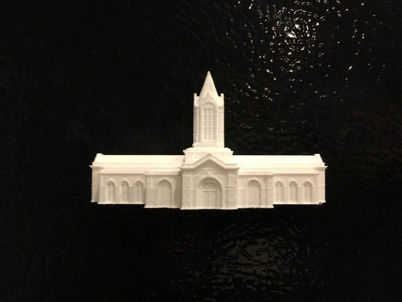CO 3D Temple Fridge Magnet Fort Collins Made to order