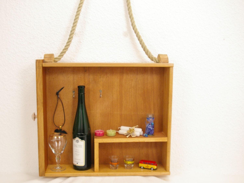regal aus alter schublade zum aufh ngen an der wand etsy. Black Bedroom Furniture Sets. Home Design Ideas
