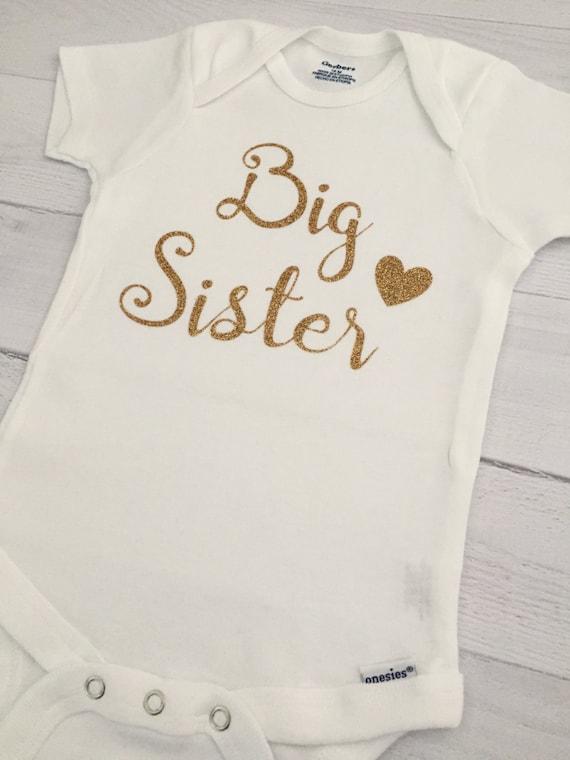 61b134ae4 Big Sister ONESIE® Bodysuit Pregnancy Announcement ONESIE®
