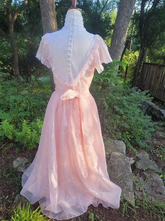 Vintage Gunne Sax Dress 9 princess Gunne Sax Swis… - image 5