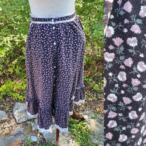 Gunne sax skirt black 9 small xs