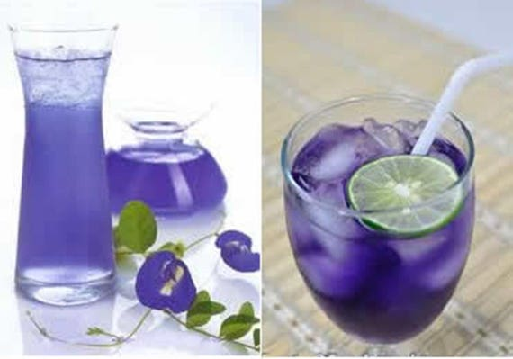 Natural Blue Food Coloring for Frosting, Icing, Cake, Cookie, Food Dye ;  Organic Blue Butterfly Pea Flower Powder ; (1 Kg.) - FREE SHIPPING