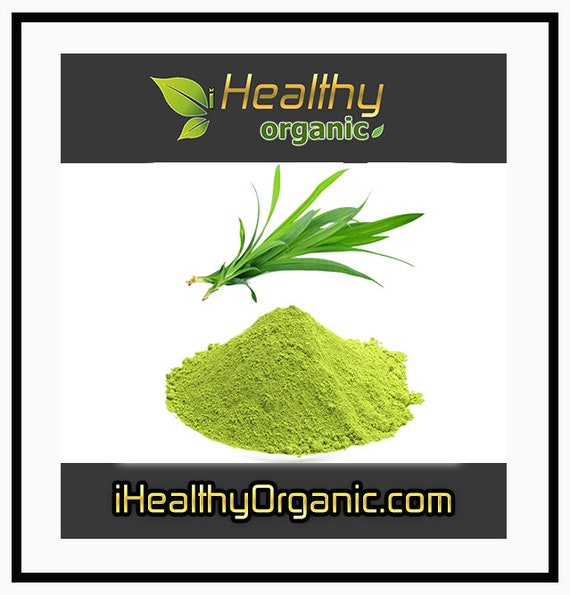 Organic Green Fragrant Pandan Powder , Natural Food Coloring for Baking,  Cake, Cookie, Food Dyeing ; (1 Kg.) - FREE SHIPPING !