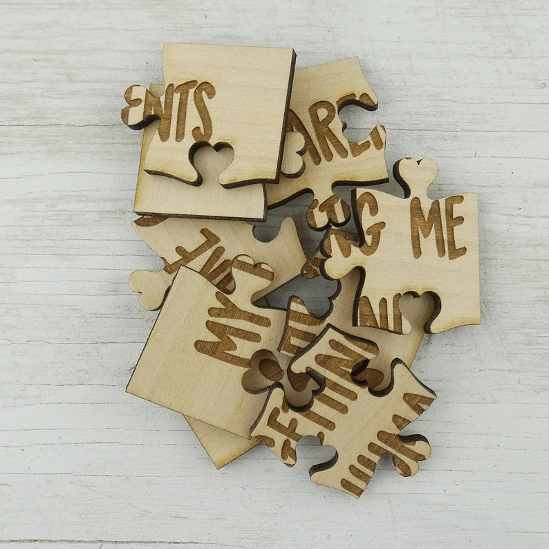My Parents Are Getting Me A Human Puzzle Put Together Surprise Pregnancy Announcement From Dog Cat Basswood Lasered Jigsaw Puzzle
