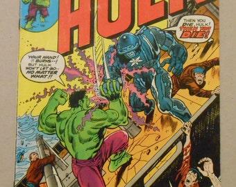 Hulk #173; Incredible Hulk vol 1 #173; Hulk Vs Cobalt Man; Origin Cobalt Man; Hulk; Avengers Infinity War Movie; Fine Grade; Key Hulk Comic!