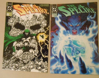 The Spectre #1; The Spectre #11; Glow in the Dark Cover; Dark JLA Movie; John Ostrander and Tom Mandrake; Reaver; Azmodus;  High Grade!