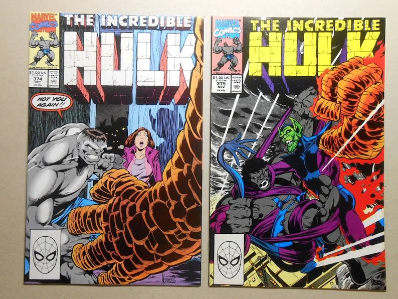 Hulk #374, #375