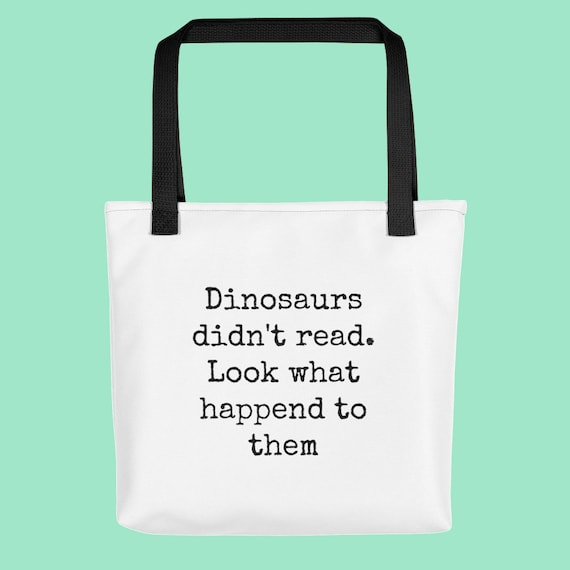Funny Book Nerd and Bookworm For Her White Tote Bag Bookish  15c47c81f377d