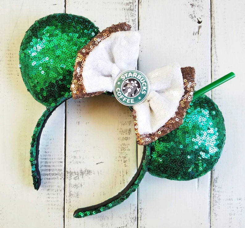 Starbucks Coffee and Character Brews  Inspired Ears image 0