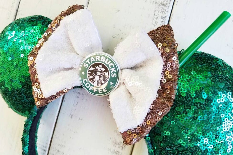 Starbucks Coffee and Character Brews  Inspired Ears image 1