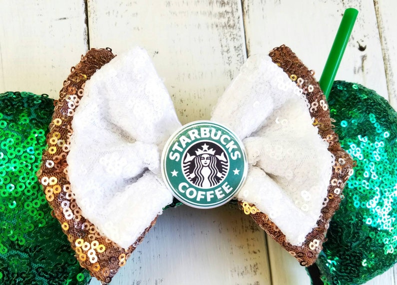 Starbucks Coffee and Character Brews  Inspired Ears image 2