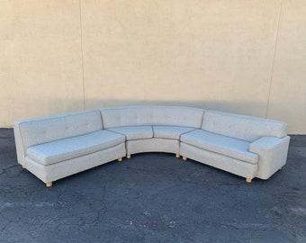 Huge kroehler 3 piece sectional sofa