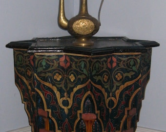 Exotic, Seductive and Adventurous, Moroccan Side Table