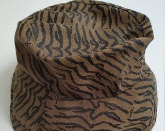 27c3102080e9 Vintage Fendi Animal Print Bucket Hat