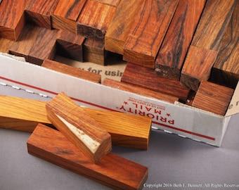 Cocobolo - Exotic Wood Scraps