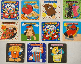 Stinky/'s Scratch /& Sniff Stickers Mexican Food Collectible Set!! Dr