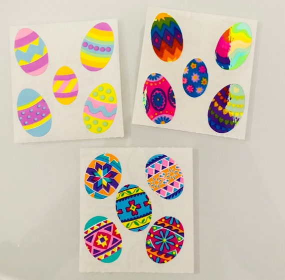 Sandylion EASTER EGGS Stickers NEW