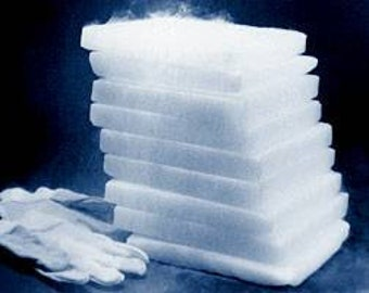 Dry ice. Suggested during hot summer months! add onto your existing order from Syl's Delights shop