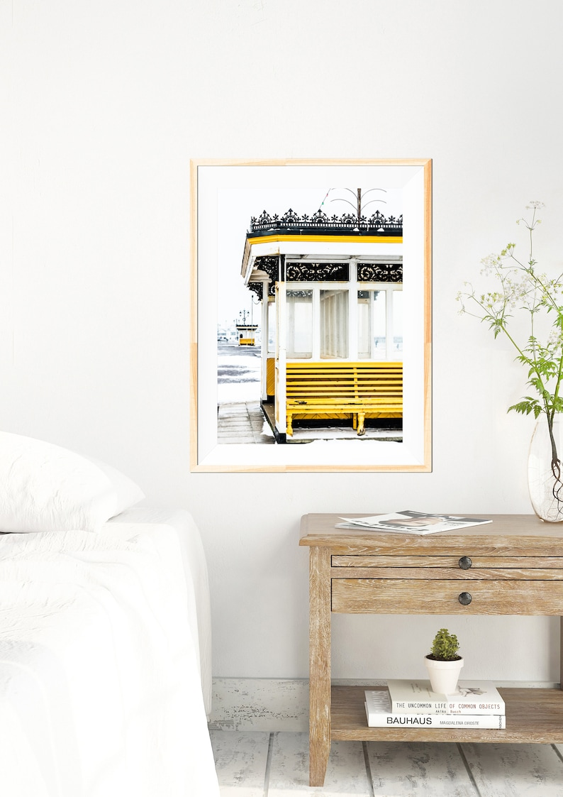 Portsmouth Photography White Wall Decor UK Fine Art Photography Photography White Wall Art Shelters in the Snow Southsea