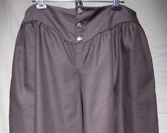 "Brown Short Pants, LARP, cosplay, costume, medieval, 41"" waist"