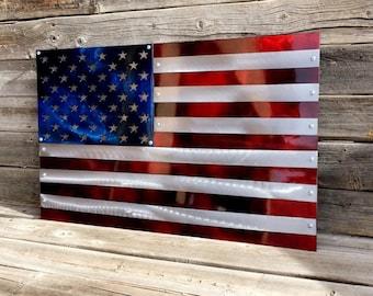 All Steel American Flag 693bf43e86f