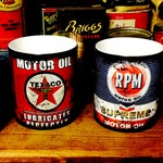 Retro Oil Can Coffee Mugs