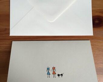 Domestic Life Birthday card