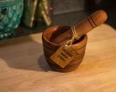 Handmade Bradford Pear Mortar and Pestle