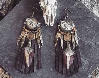 <<< Boucles d'oreilles Nazca >>>