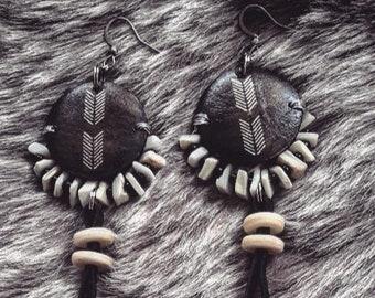 <<< Boucles d'oreilles Quanah >>>