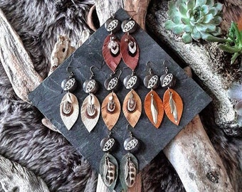 <<< Boucles d'oreilles Phuru >>>