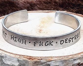 <<< Bracelet Get High.Fuck.Destroy >>>