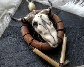 <<< Petit attrape rêves Horn >>>