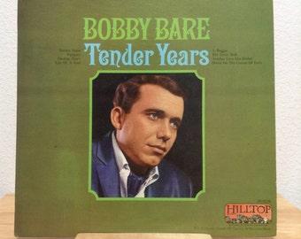 Bobby Bare Tender Years Classic Country Vinyl Record Album